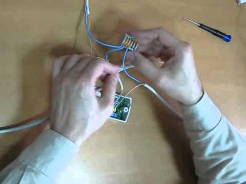 Монтаж сетевого контроллера Matrix II Net