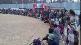 Local Archery Competition, Shillong, Meghalaya India