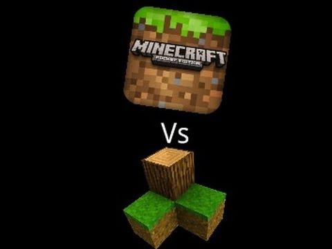 Minecraft PE vs Survivalcraft