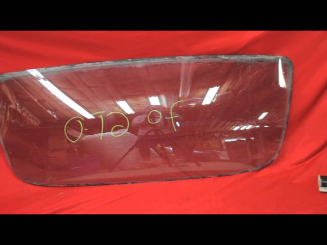 1970 1971 1972 GTO Back Glass
