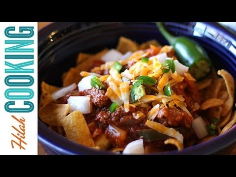 Texas Chili Recipe   How To Make Chili   Hilah Cooking