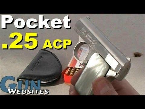 Bauer .25 acp Pocket Pistol