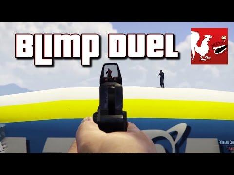 Things to do in GTA V - Blimp Duel