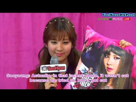 [ENG] SNSD Naver V Concert Talk Cut Part 1 2/3