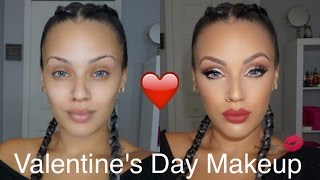 Valentines Day Makeup | Viva_Glam_Kay