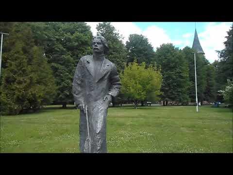 Калининград. Остров Канта, парк скульптуры, собор, орган, отрывок концерта 2016 г. Июнь