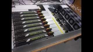 Unboxing NVIDIA Geforce GTX Titan X + Asus Server ESC8000 G3 !!!