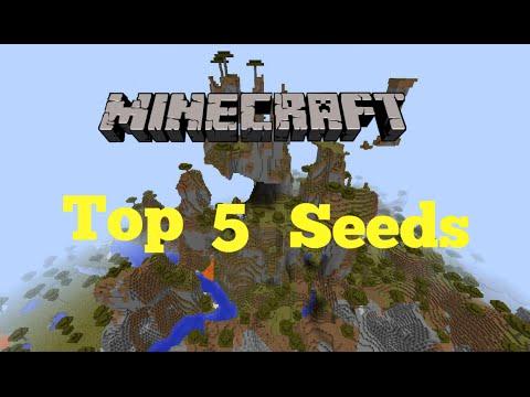 Top 5 Minecraft seeds [Minecraft 1.8] 2014