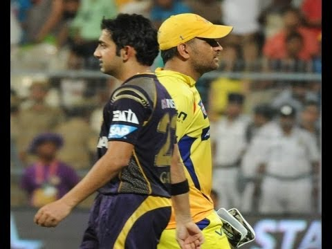 IPL 7: Ganbhir thrashes Dhoni - IANS India Videos