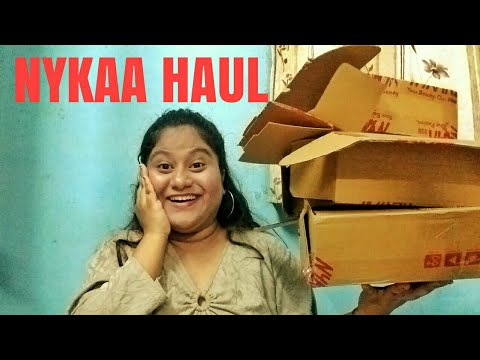 BIGGEST NYKAA HAUL