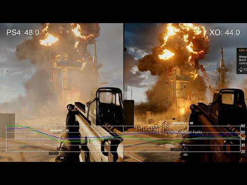 Battlefield 4: Xbox One vs. PlayStation 4 Frame-Rate Tests