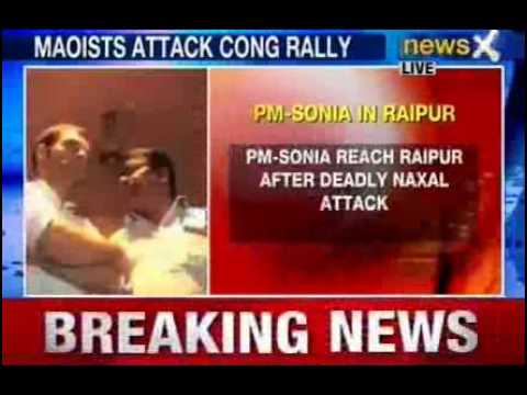 Chhattisgarh Naxal attack: PM, Sonia visit injured in Raipur