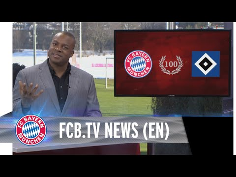 Bayern Munich prepared for 100th clash with Hamburg