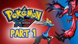 Pokemon X and Y Gameplay Walkthrough Part 1 - I CHOOSE YOU! (3DS Let's Play Commentary)