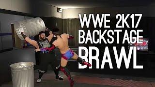 WWE 2K17 Gameplay: Backstagewl, Shinsuke Nakamura, Sasha vs Bayley, Finn Balor, Kevin Owens