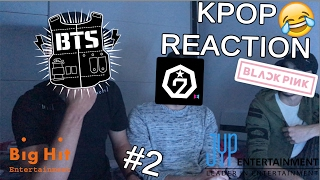 MY FRIENDS REACT TO KPOP / MEINE FREUNDE REAGIEREN ZU KPOP/BTS/BLACKPINK/ GOT7?! #2