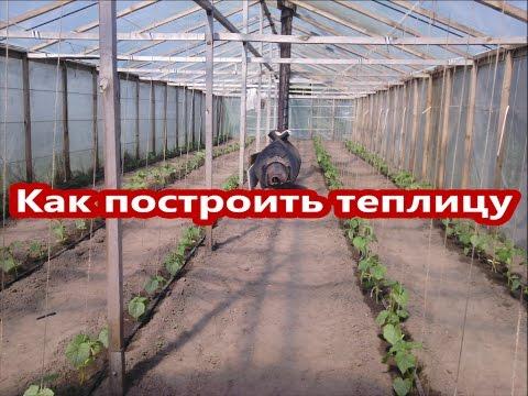 Теплицы. Как и чем накрывают в теплицы в Китае How and what is covered greenhouses in China на tubethe.com