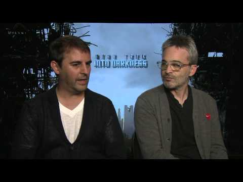 Alex Kurtzman and Roberto Orci Interview - Star Trek Into Darkness