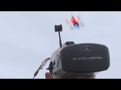 Review: Quanum Cyclops FPV visor from HobbyKing