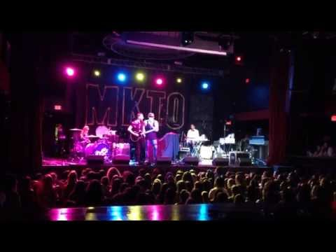 MAGIC! - Rude (My Electric Heart cover) live @ Revolution Live w/ MKTO, Action Item