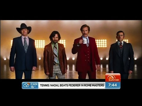 Sunrise - Anchorman 2 trailer released