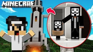 BABY GAME MASTER IN RAKETE GEFANGEN IN MINECRAFT?!