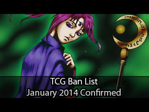Official January 2014 TCG Yugioh Ban List (Welcome Back Magician of Faith)