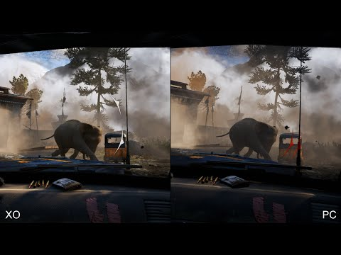 Far Cry 4: Xbox One vs PC Comparison