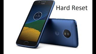How To Hard Reset Motorola Moto E4 E4 PLUS 100%ok solution