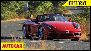 Porsche 718 Boxster | First Drive | Autocar India