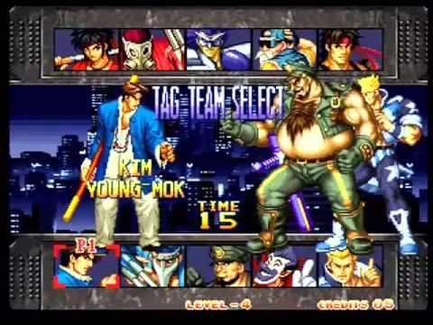 kizuna encounter super fu'un battle: snk tag team fighter