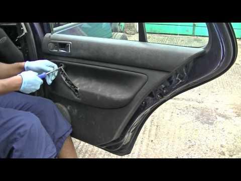 VW Golf Jetta Rear Door Panel Removal