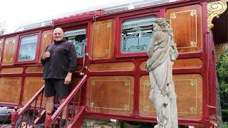CAMP LIFE: BIG JOHN FURY GIVES TOUR OF VINTAGE CARAVAN, TALKS TRAVELLER HERITAGE & FAMILY HISTORY