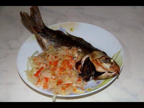 Караси в духовке. (Рыба в духовке) Карасики. Рыба. Караси в духовке