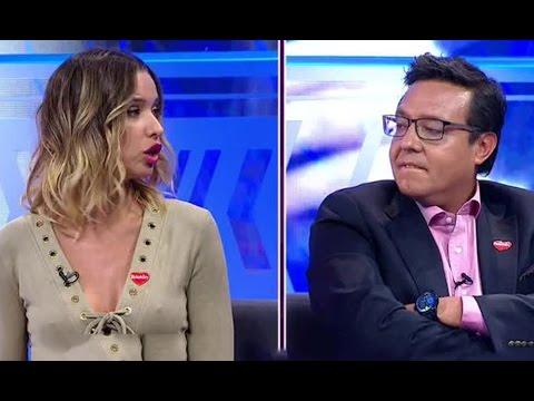 Duro cara a cara de Álvaro Sanhueza y Claudia Schmidt - PRIMER PLANO