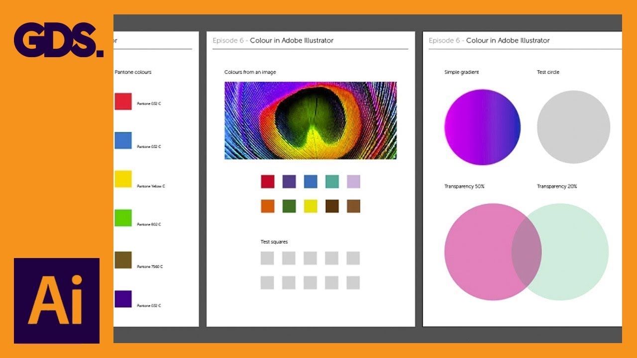 how to add colour in illustrator