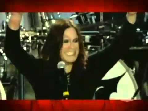 Marilyn Manson Presents Ozzy Osbourne With Award (2006)
