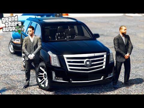 РЕАЛЬНАЯ ЖИЗНЬ В GTA 5 - ЗАКАЗНОЙ УГОН CADILLAC ESCALADE! УКРАЛИ МАШИНУ FBI! 🌊ВОТЕР