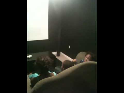 Money Moe Kids In Cinema Room video