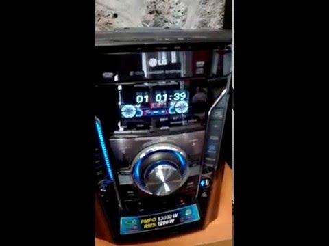 Minicomponente LG MCV905 Con Sonido Fuerte Y De Alta Calidad