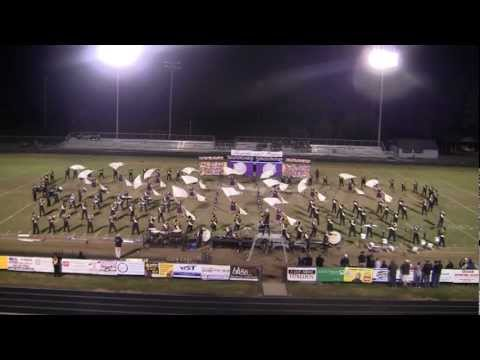 "East Davidson High School Marching Eagles 2012 ""Thanks and Praise"""
