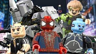 LEGO Marvel : The Amazing Spider-Man 2 Minifigures - Showcase