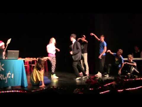 KapljiceTV - Bozic s gimanzijalcima 2012.g. - Facebook-Gangnam Style