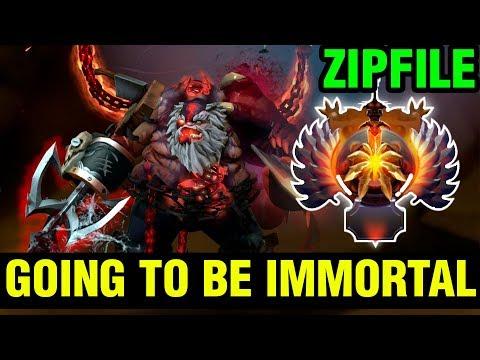 Zipfile Going To Be Immortal This Season? - Pudge - Dota 2