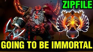 Zipfile Going To Be Immortal This Season? - Pudge - Dota 2
