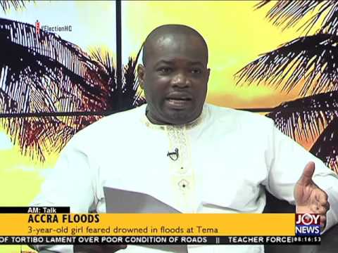 Accra floods - A M Talk on Joy News (10-6-16)
