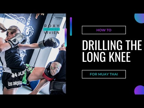 How to Drill the Long Knee for Muay Thai or K1 Image 1
