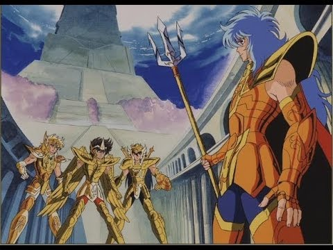 【星矢BS】ポセイドン軍vsアテナ軍 | Seiya-BS: Marina General vs Bronze Saint