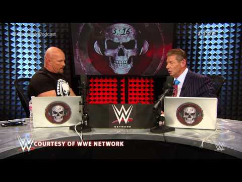 Groundbreaking Stone Cold Podcast with Vince McMahon - Lack of ambition in the WWE locker room