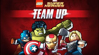 Игра Лего Команда Супер Героев | Team Up Lego Super Heroes